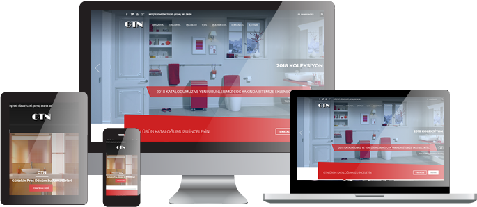 GTN Kurumsal Web Sitesi